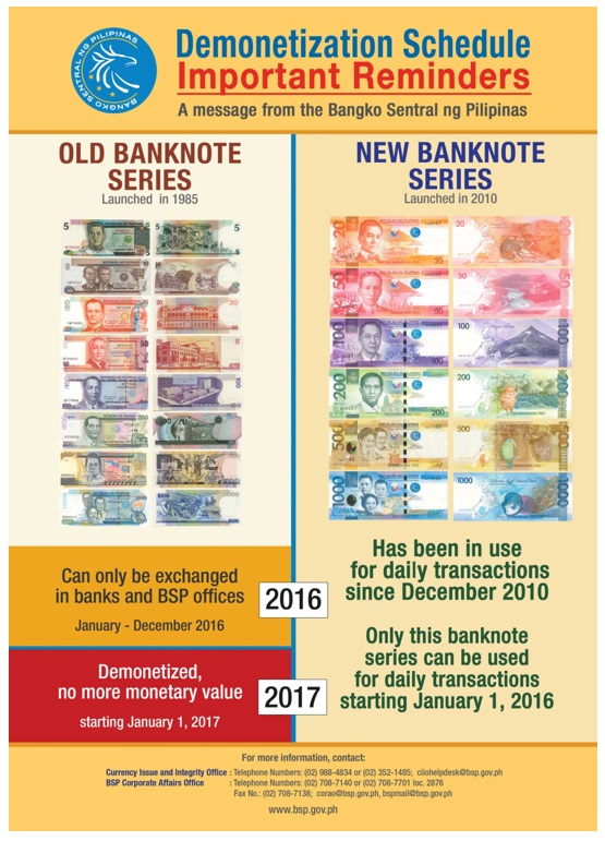 PH Embassy in SG Reiterates Demonetization of Old Banknote