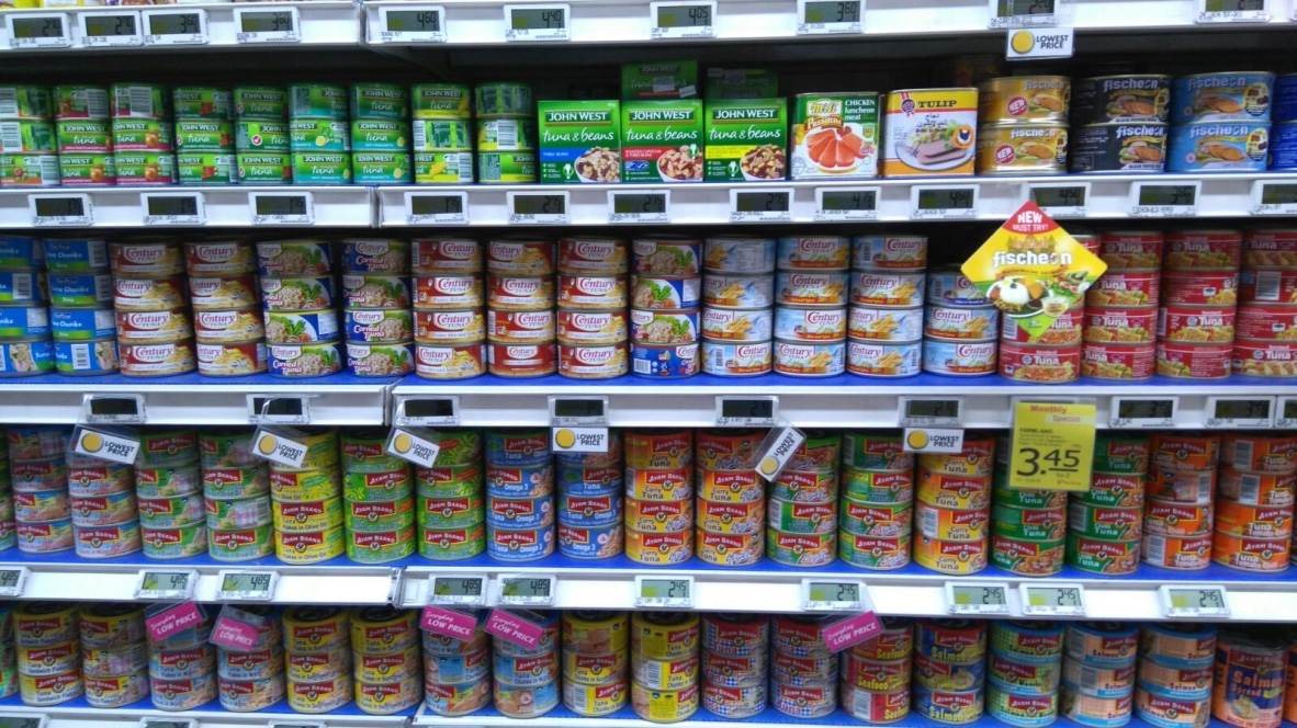 FairPrice Ponggol - Century Tuna Display