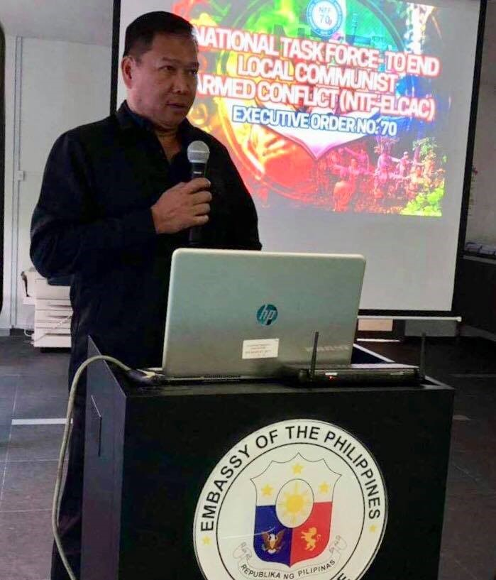 PH Embassy In Singapore Convenes Town Hall Meeting With