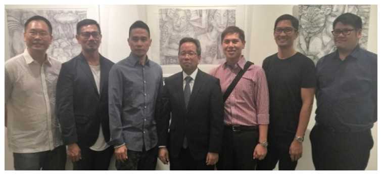 10th Philippine Art Trek Openings at Utterly Art and Di Legno Gallery