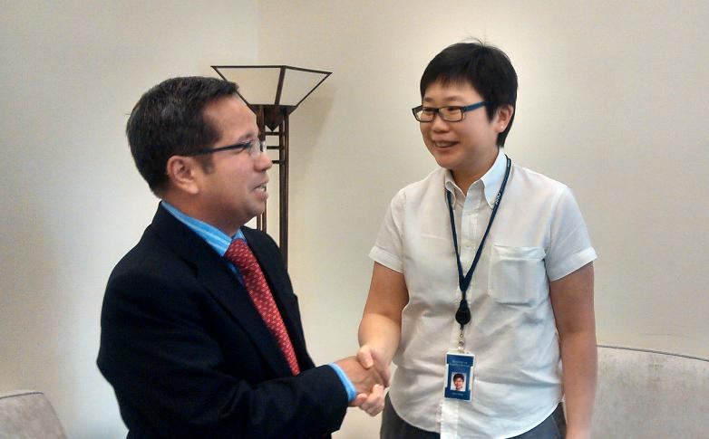 Ambassador Morales pays Introductory  Call on Director General for ASEAN at the Singapore Ministry of Foreign Affairs