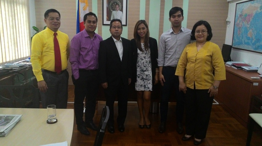AyalaLand International Property Specialists call on the PH Ambassador