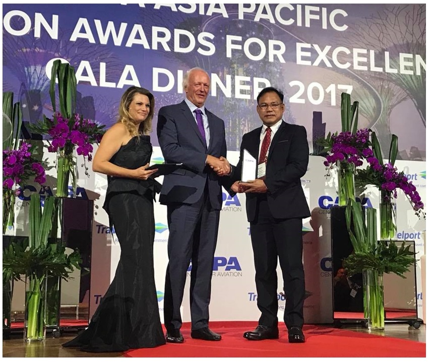 DOT recognized as Tourism Organization of the Year by the CAPA Asia Pacific Aviation Awards for Excellence