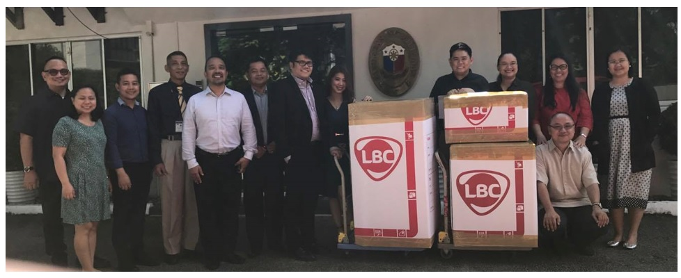 PH Embassy Singapore and LBC Send Relief Goods to Victims of Marawi Siege