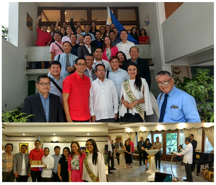 A Delegation of Vice Governors meet with Philippine Embassy Officials