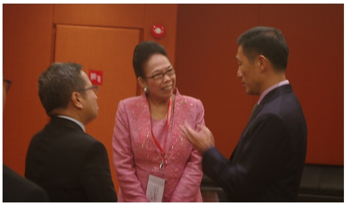 CHED Chairperson meets Counterpart  from Singapore