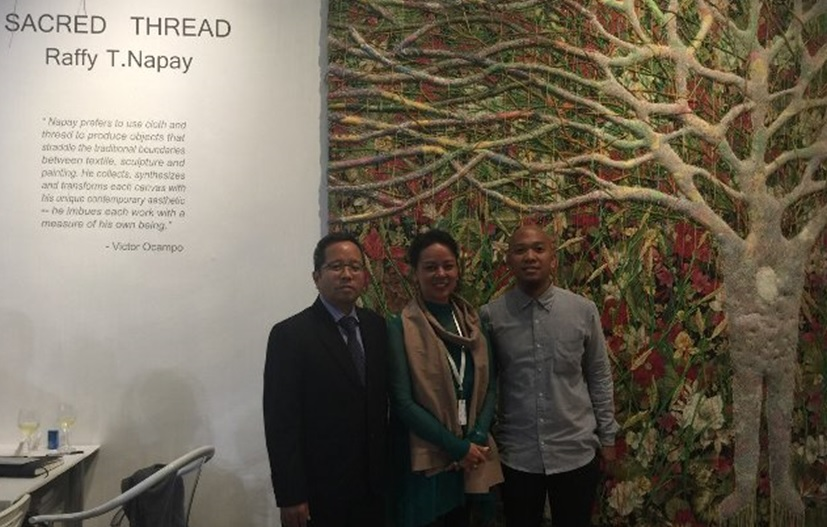 Philippine Artists Featured in Singapore Art Week 2015