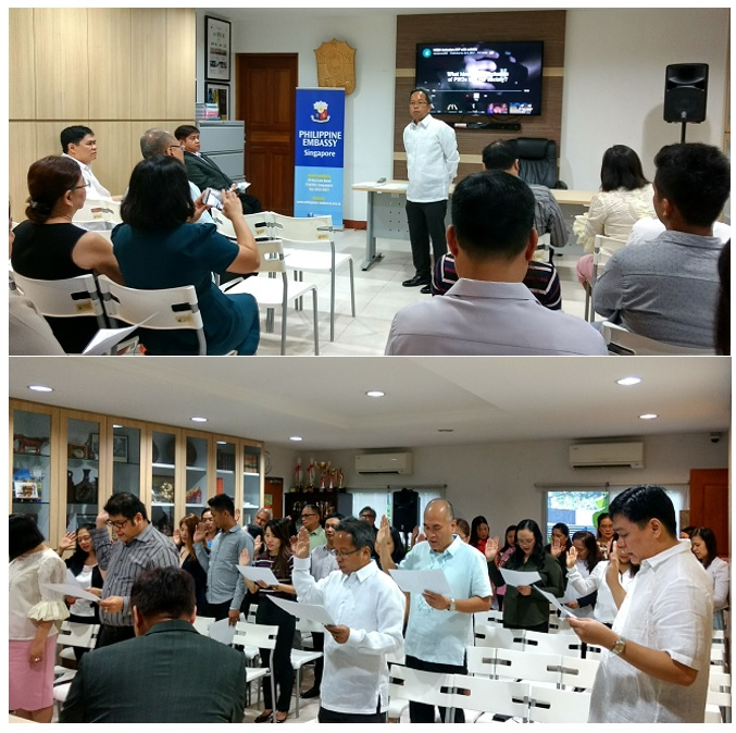 Philippine Embassy in Singapore leads observance of the 39th National Disability Prevention and Rehabilitation (NDPR) Week