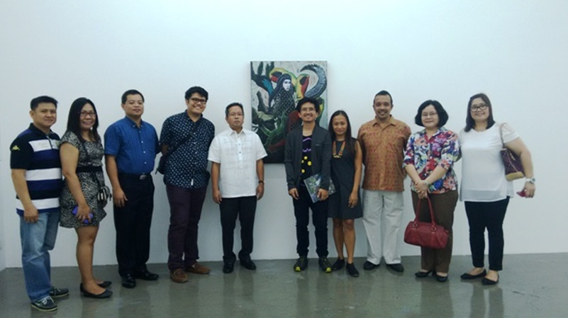 """Rodel Tapaya's """"Diamond in the Distance"""" unveiled at ARNDT Fine Art Singapore"""