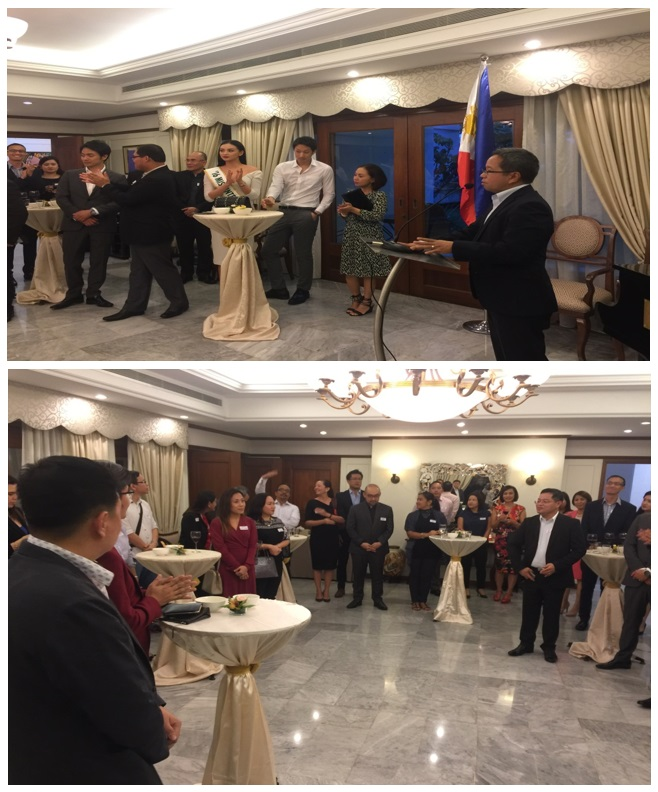 Filipino lawyers in sg gather at the philippine official residence in welcoming the group ambassador morales stressed on the potential partnership that both the embassy and the group could have especially on projects that stopboris Gallery