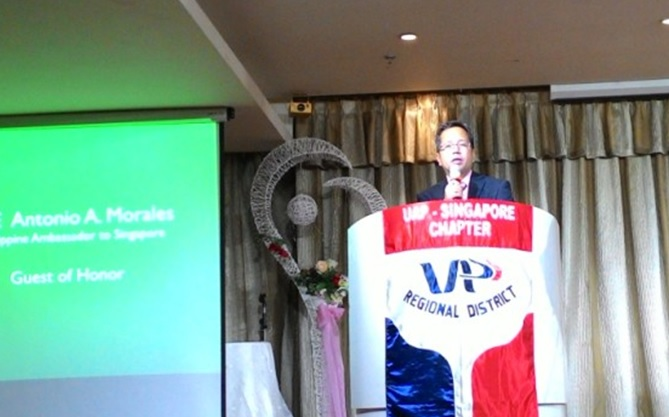 UAP Singapore (UAPS) welcomes new set of officers