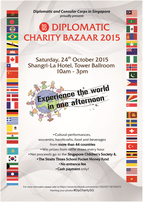 Sg50 diplomatic charity bazaar 2015 embassy of the philippines everyone is cordially invited to visit the sg50 diplomatic charity bazaar 2015 and visit the philippine booth nos 7 and 8 at the tower ballroom stopboris Gallery